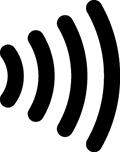 NFCコンタクトレス対応のマーク